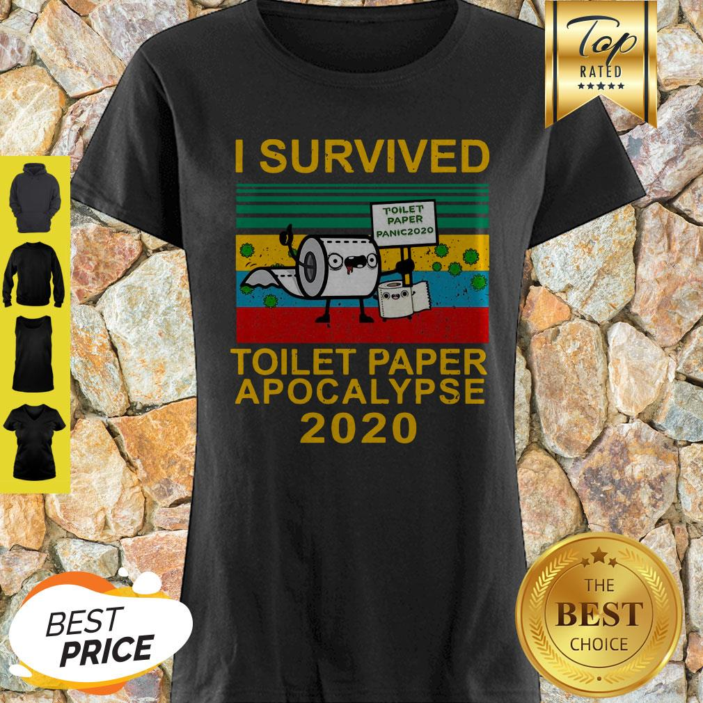 I Survived Toilet Paper Apocalypse 2020 ShirtI Survived Toilet Paper Apocalypse 2020 Shirt