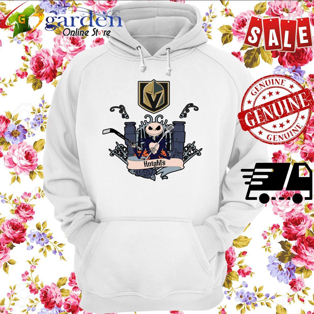 Jack Skellington Knights This Is Halloween NHL hoodie