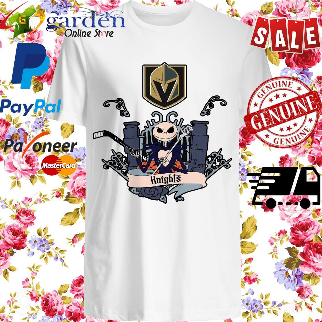 Jack Skellington Knights This Is Halloween NHL Shirt