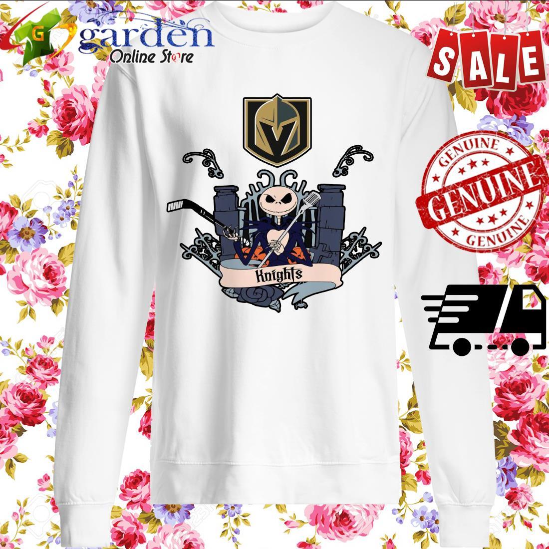 Jack Skellington Knights This Is Halloween NHL sweater