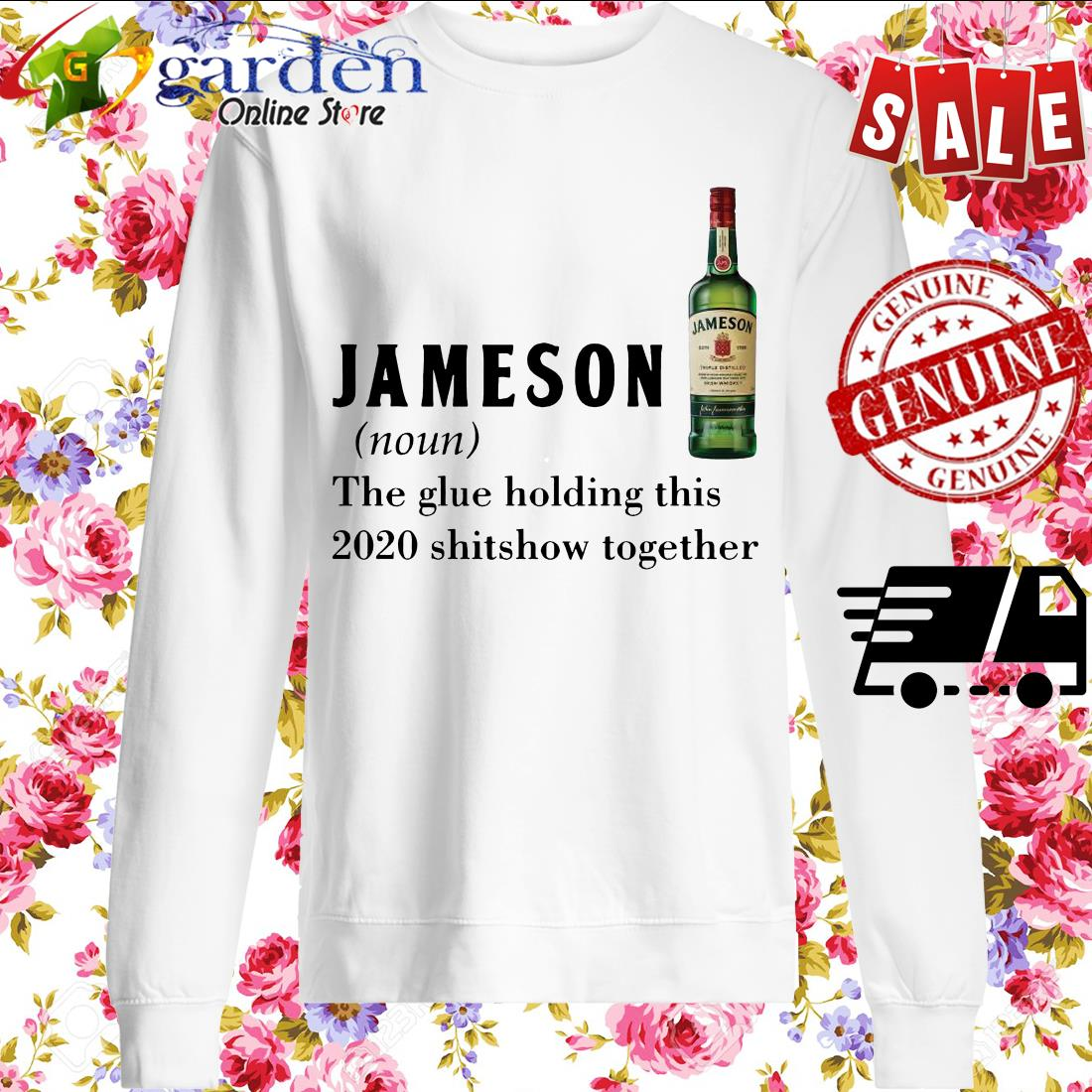 Jameson the glue holding this 2020 shitshow together sweater