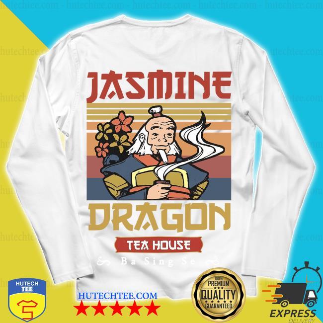 Jasmine dragon tea house ba sing se vintage s unisex longsleeve