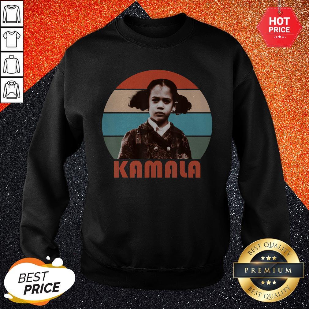 Kamala Harris That Little Girl Vintage Retro Sweatshirt