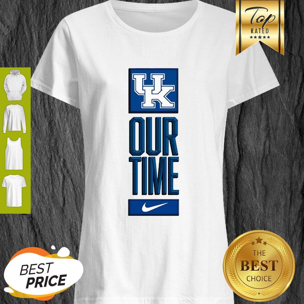 Kentucky Wildcats Logo Basketball Our Time 2020 Shirt