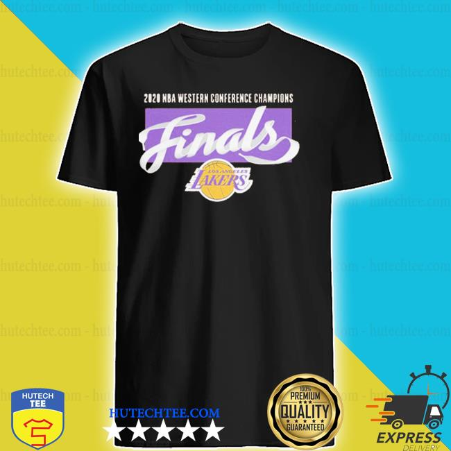 Los angeles lakers 2020 western conference champions shirt