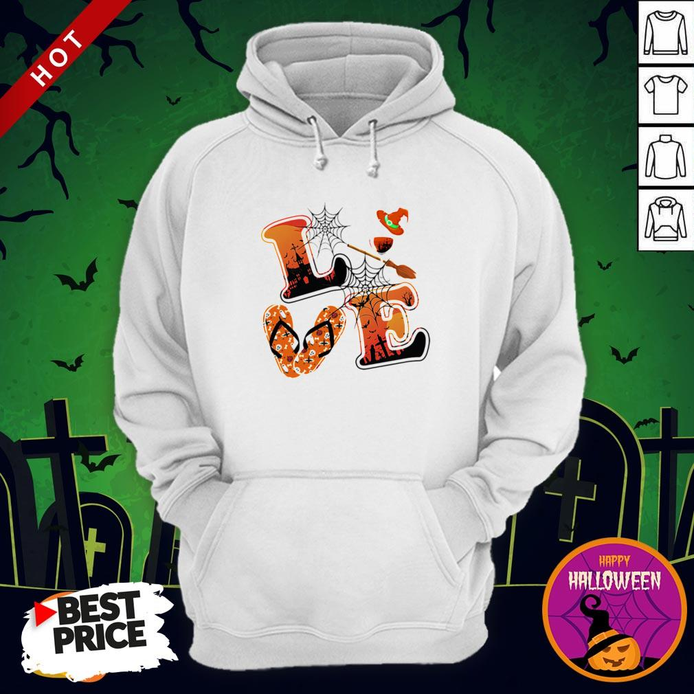 Maybe Love Halloween Witch Hoodie