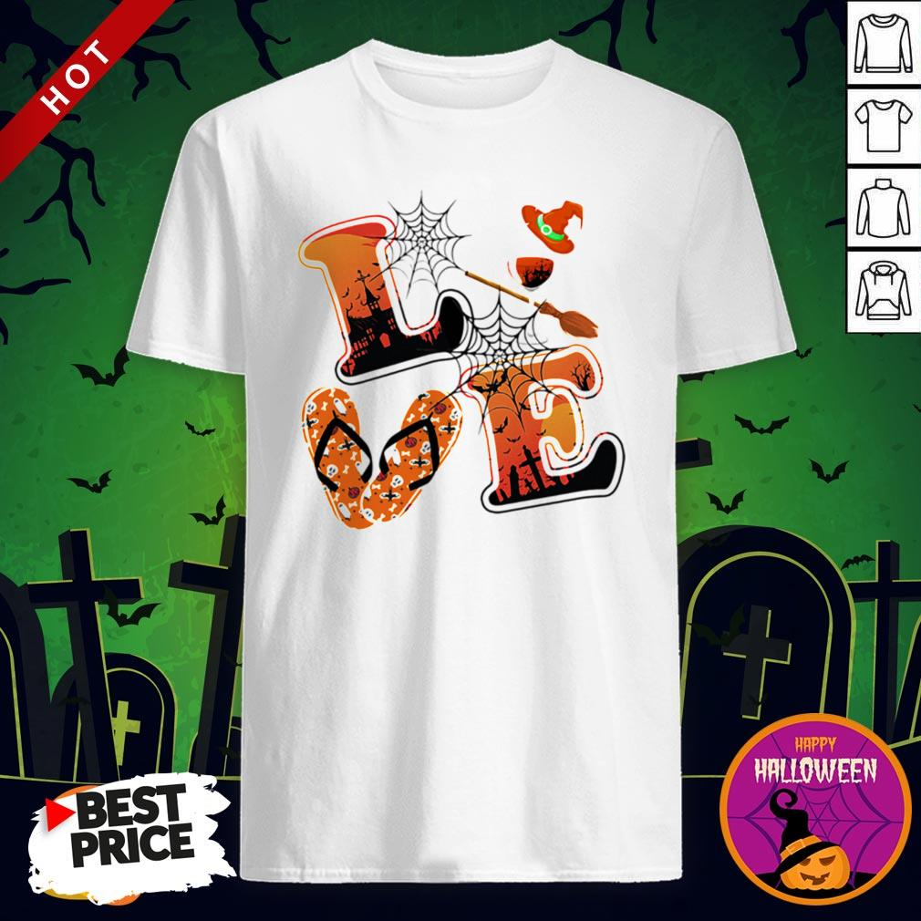 Maybe Love Halloween Witch Shirt