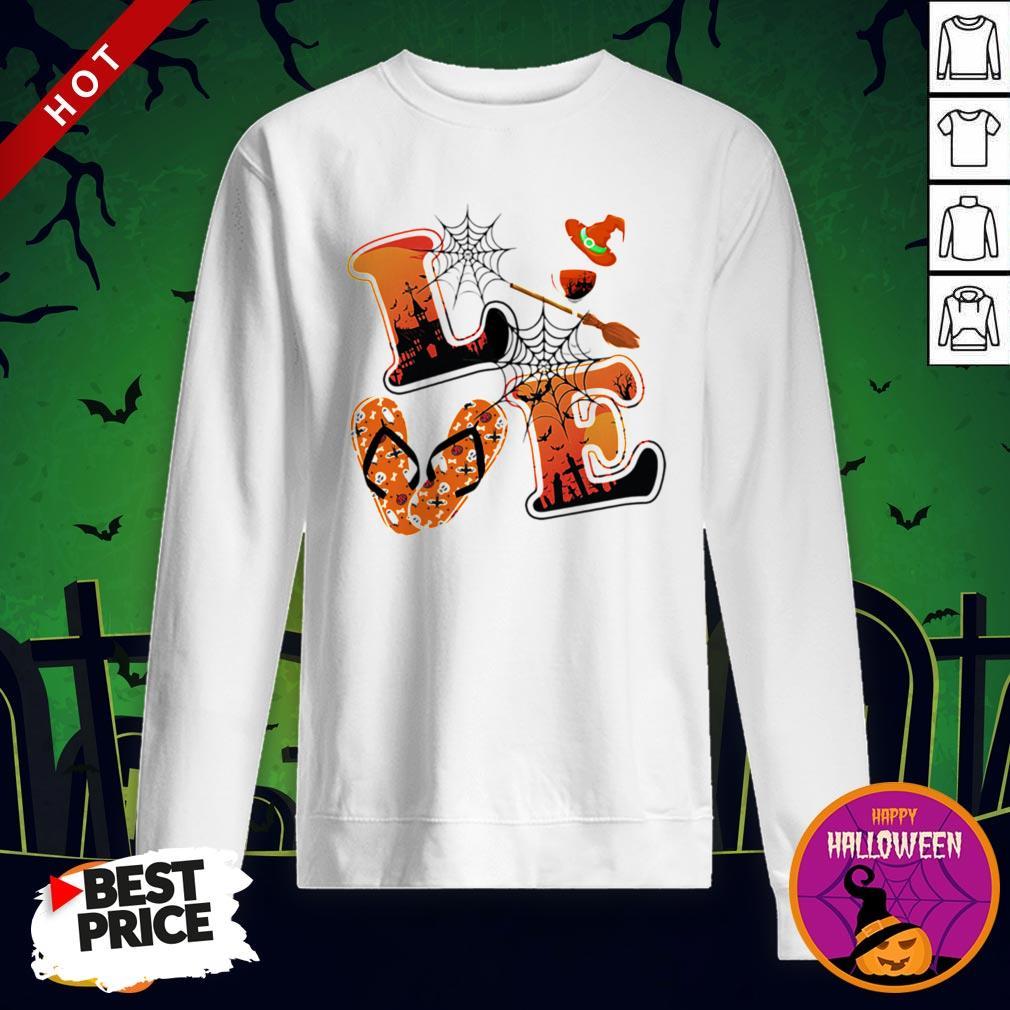 Maybe Love Halloween Witch Sweatshirt