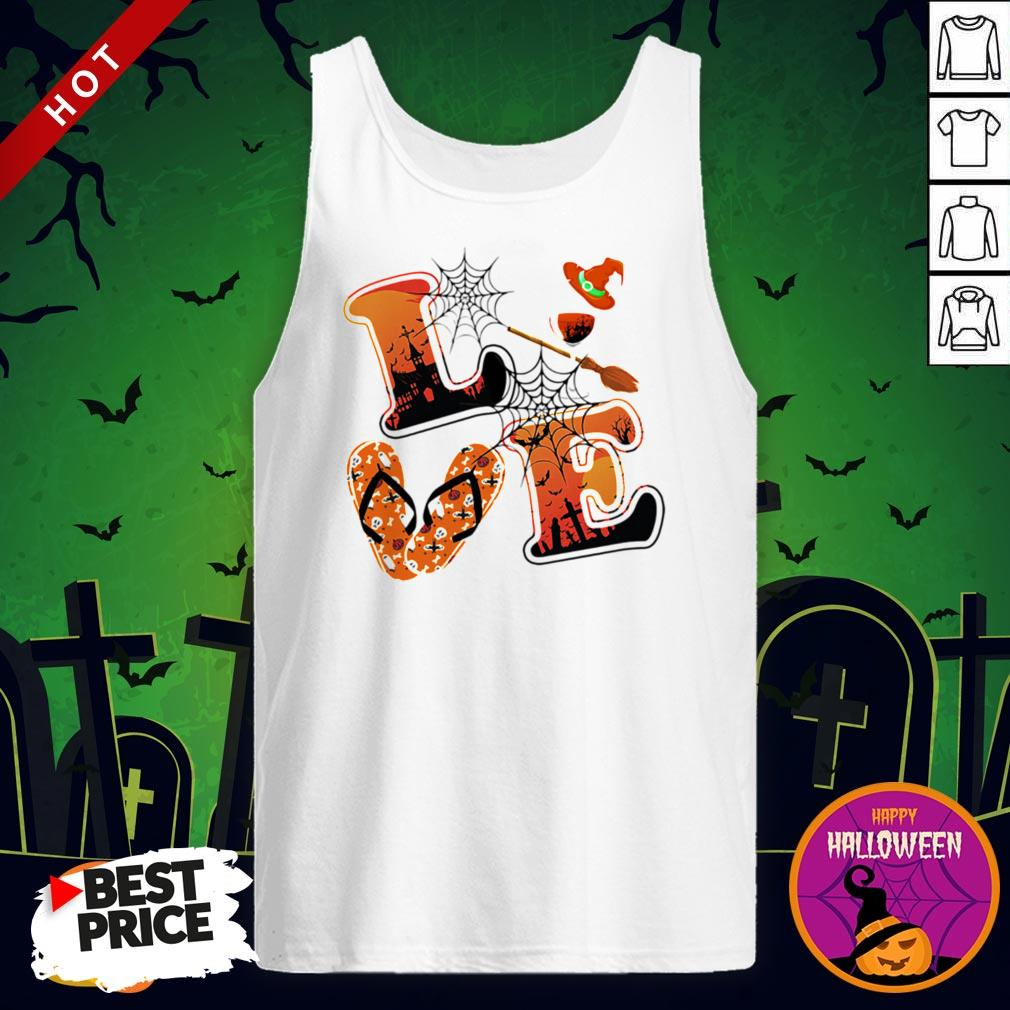 Maybe Love Halloween Witch Tank Top
