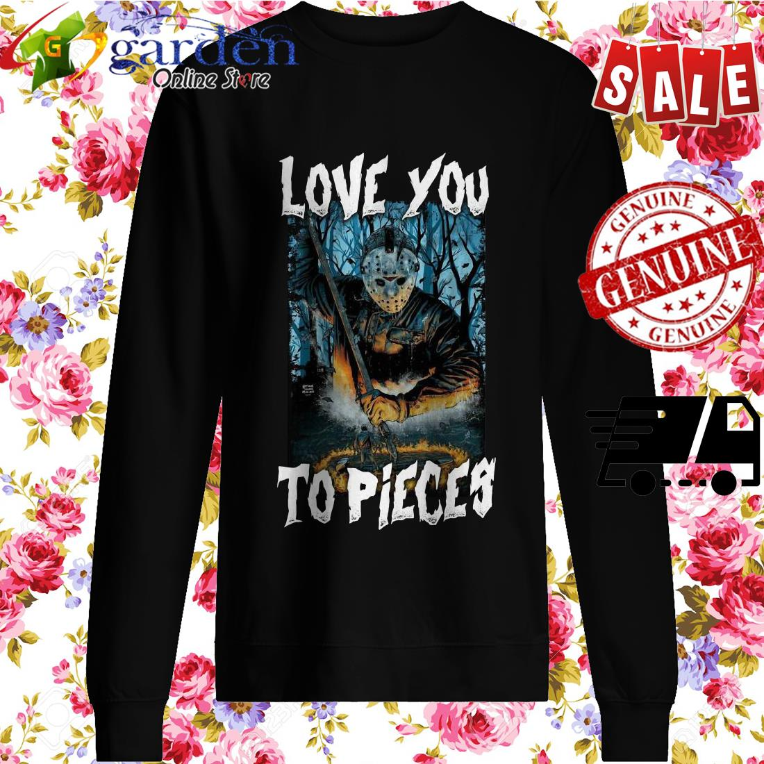 Michael Myers Love You To Pieces Halloween sweater
