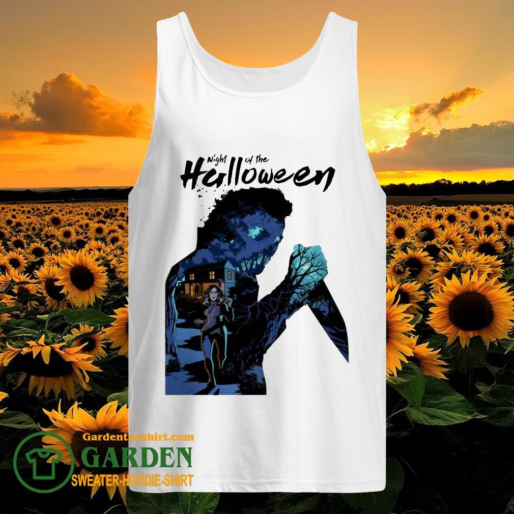 Michael Myers Night Of The Halloween tank top