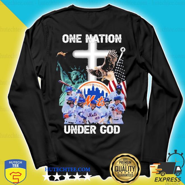 New york mets one nation under god s longsleeve