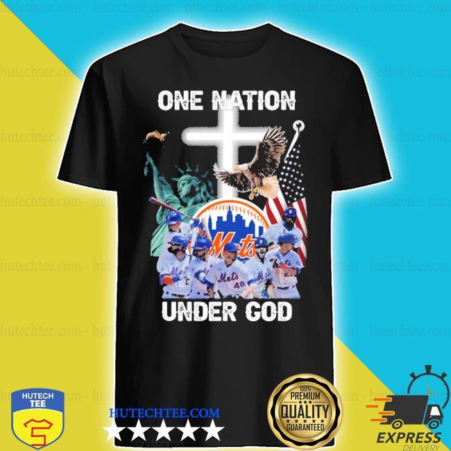 New york mets one nation under god shirt