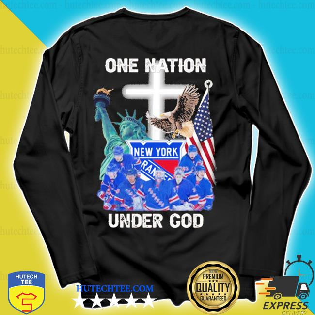 New york rangers one nation under god 2020 s longsleeve