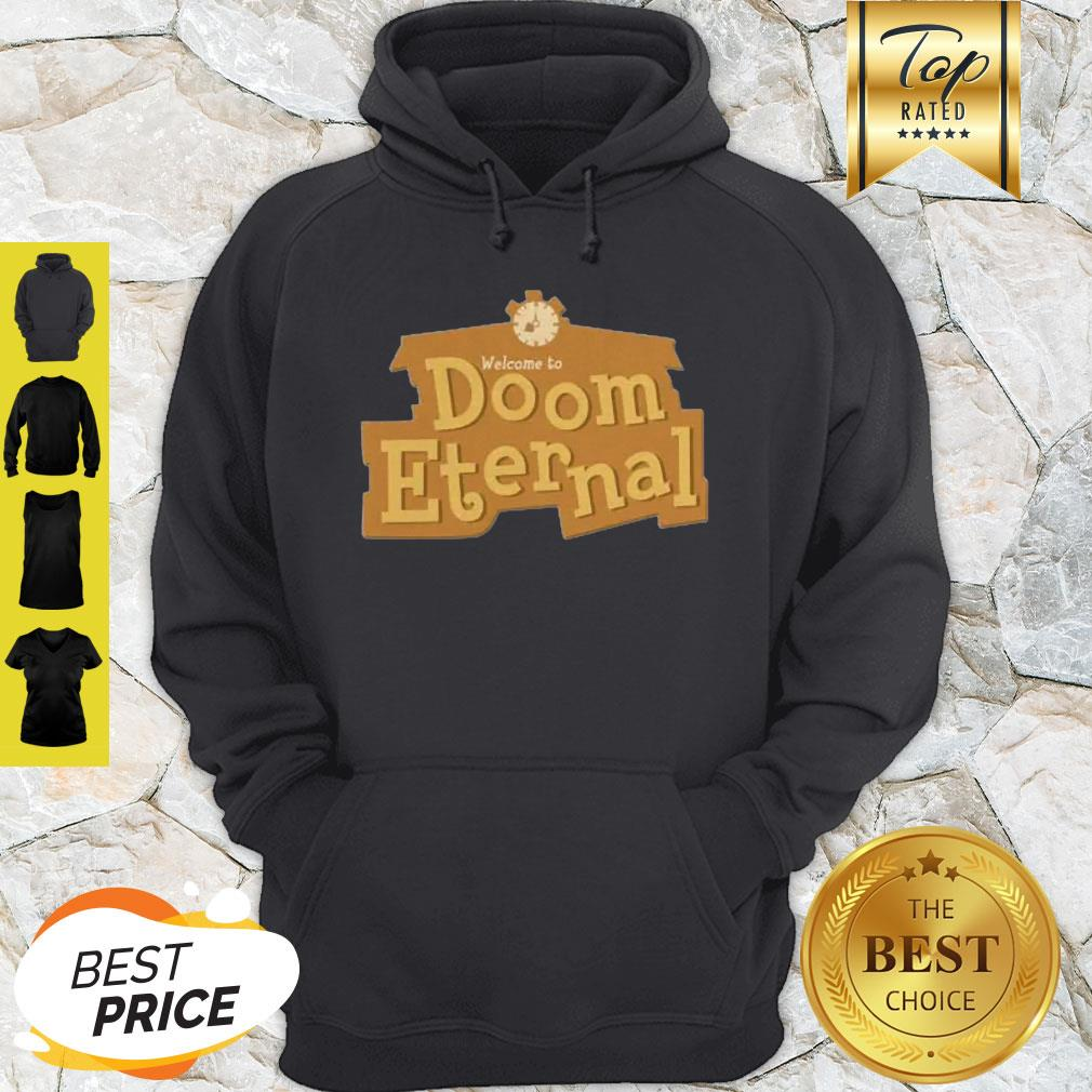Nice Doom Eternal Animal Crossing Hoodie