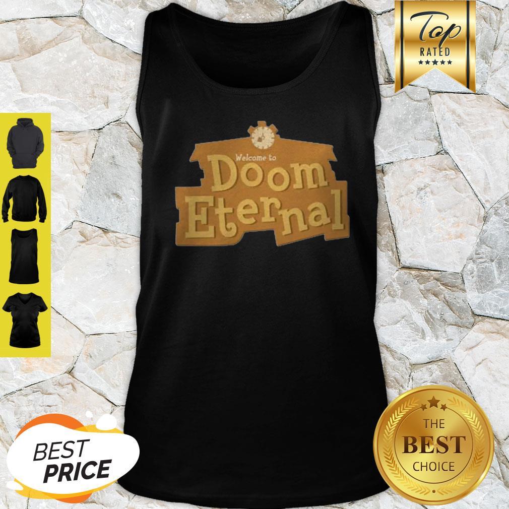 Nice Doom Eternal Animal Crossing Tank Top
