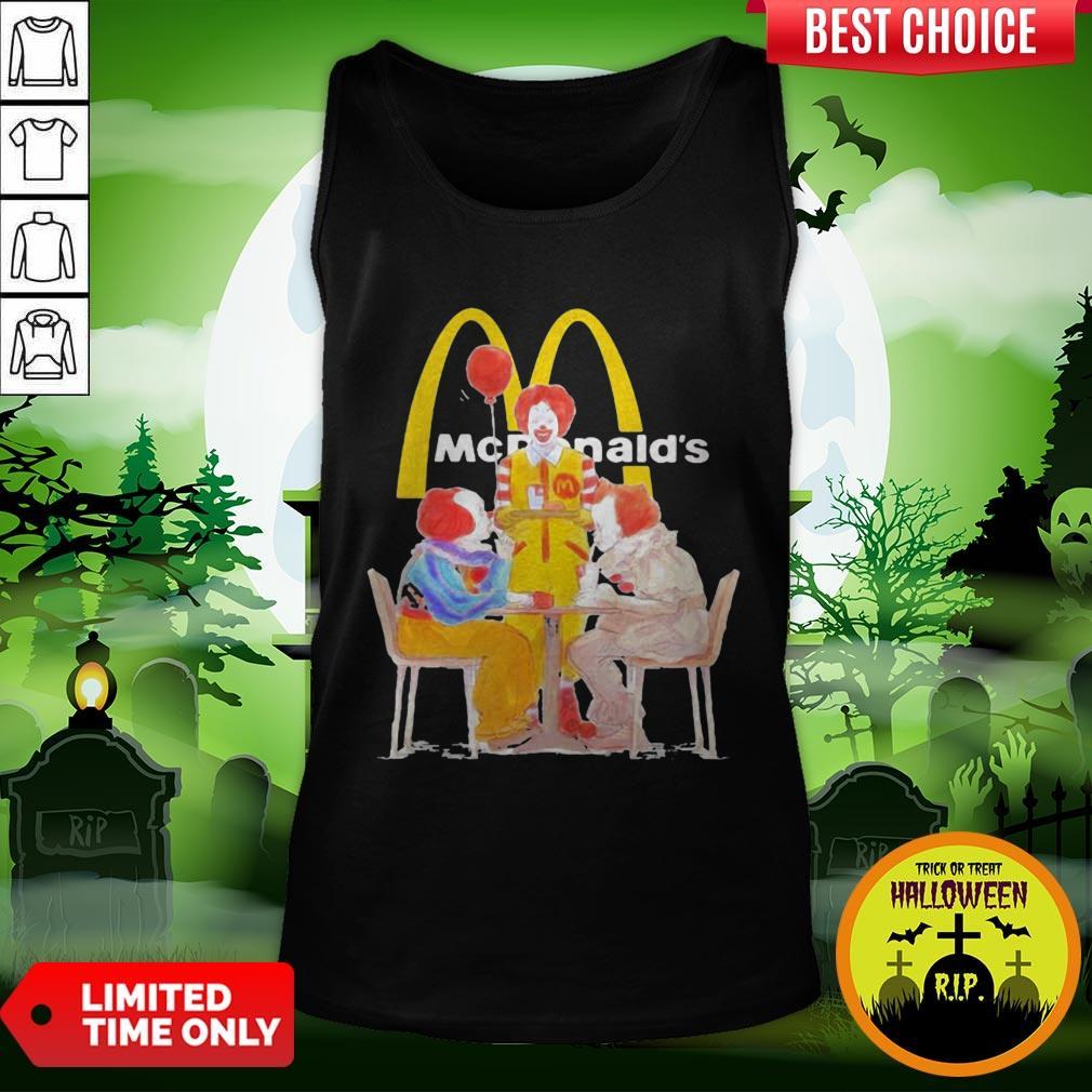 Nice Halloween Joker Characters Mcdonalds Tank Top