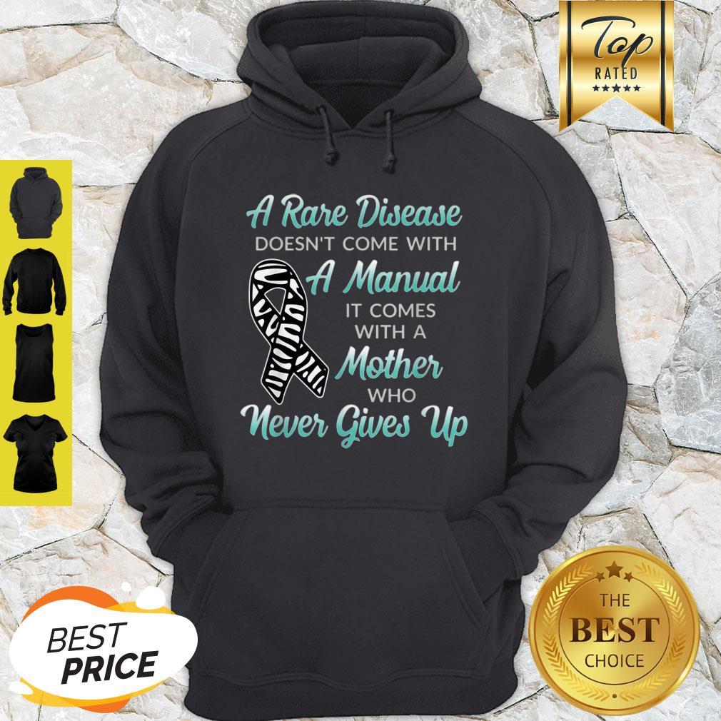 Nice Top Rare Disease For Mother Awareness Hoodie