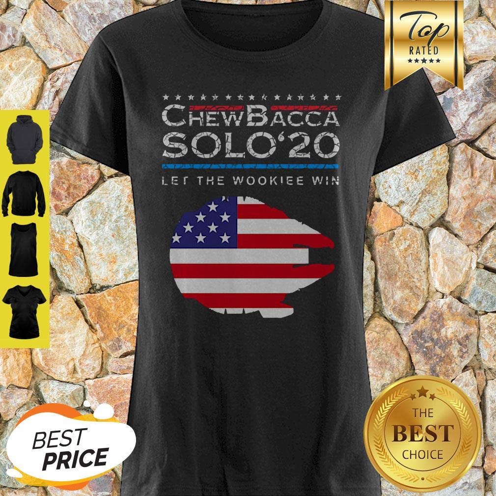 Official Chewbacca Solo 20 Let The Wookie Win Shirt