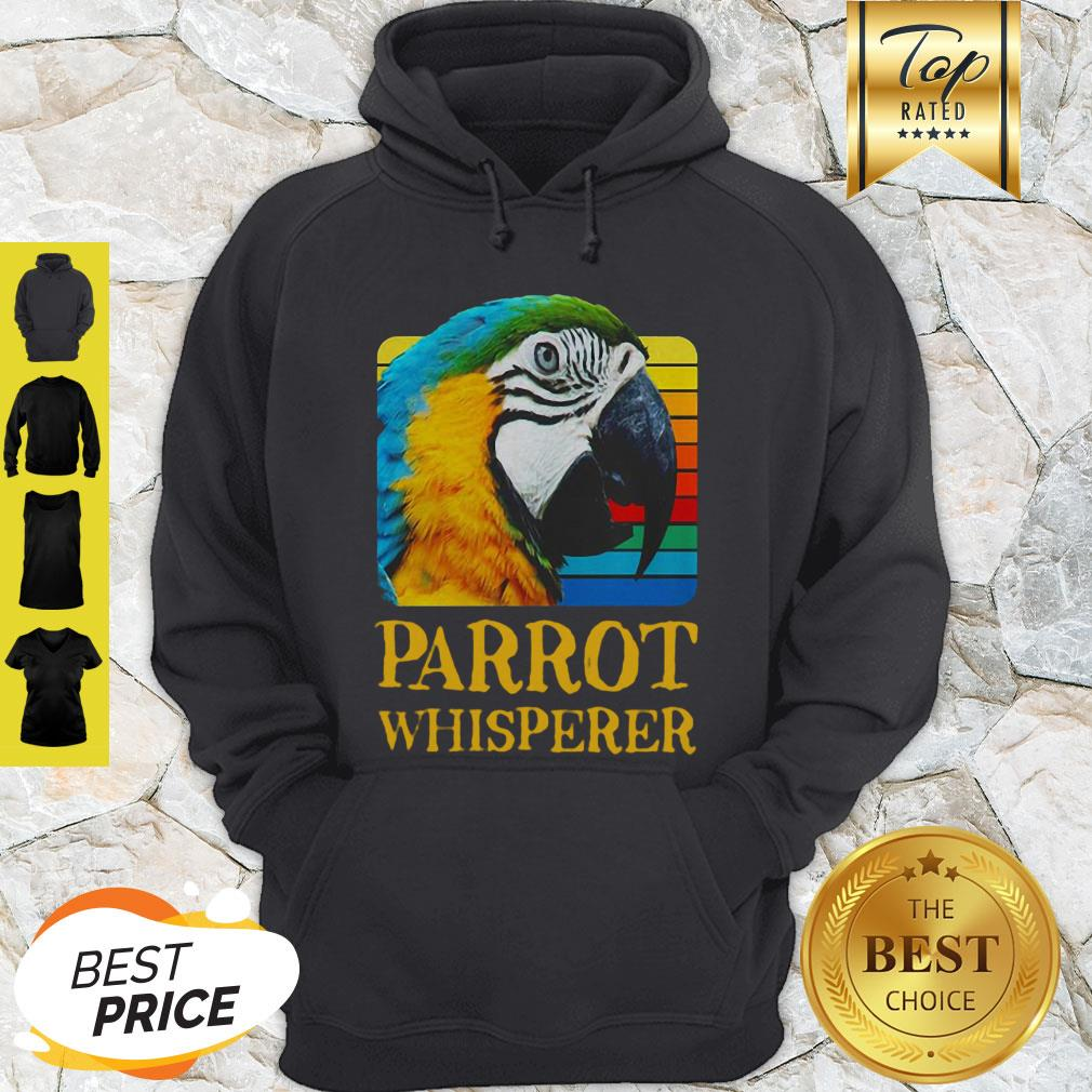 Official Parrot Whisperer Vintage Hoodie