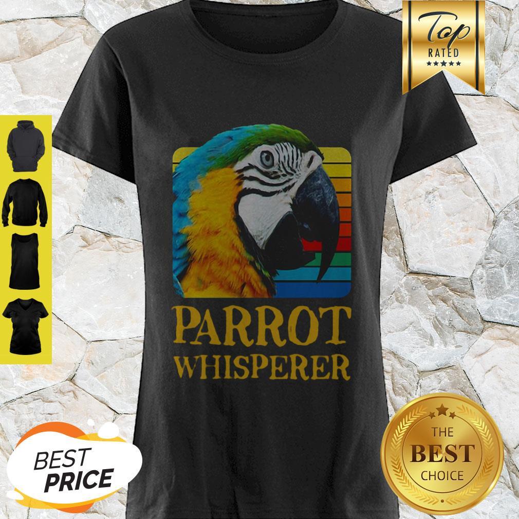 Official Parrot Whisperer Vintage Shirt