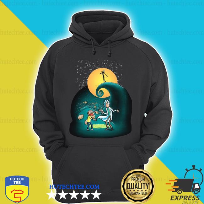 Official Rick and Morty Nightmare Before Christmas s hoodie