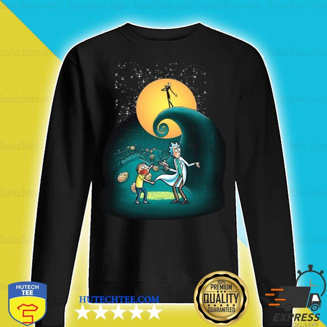 Official Rick and Morty Nightmare Before Christmas s sweater