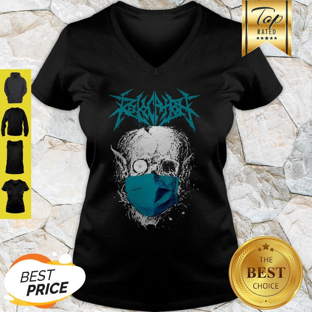 Official Skull Revocation Coronavirus V-neck