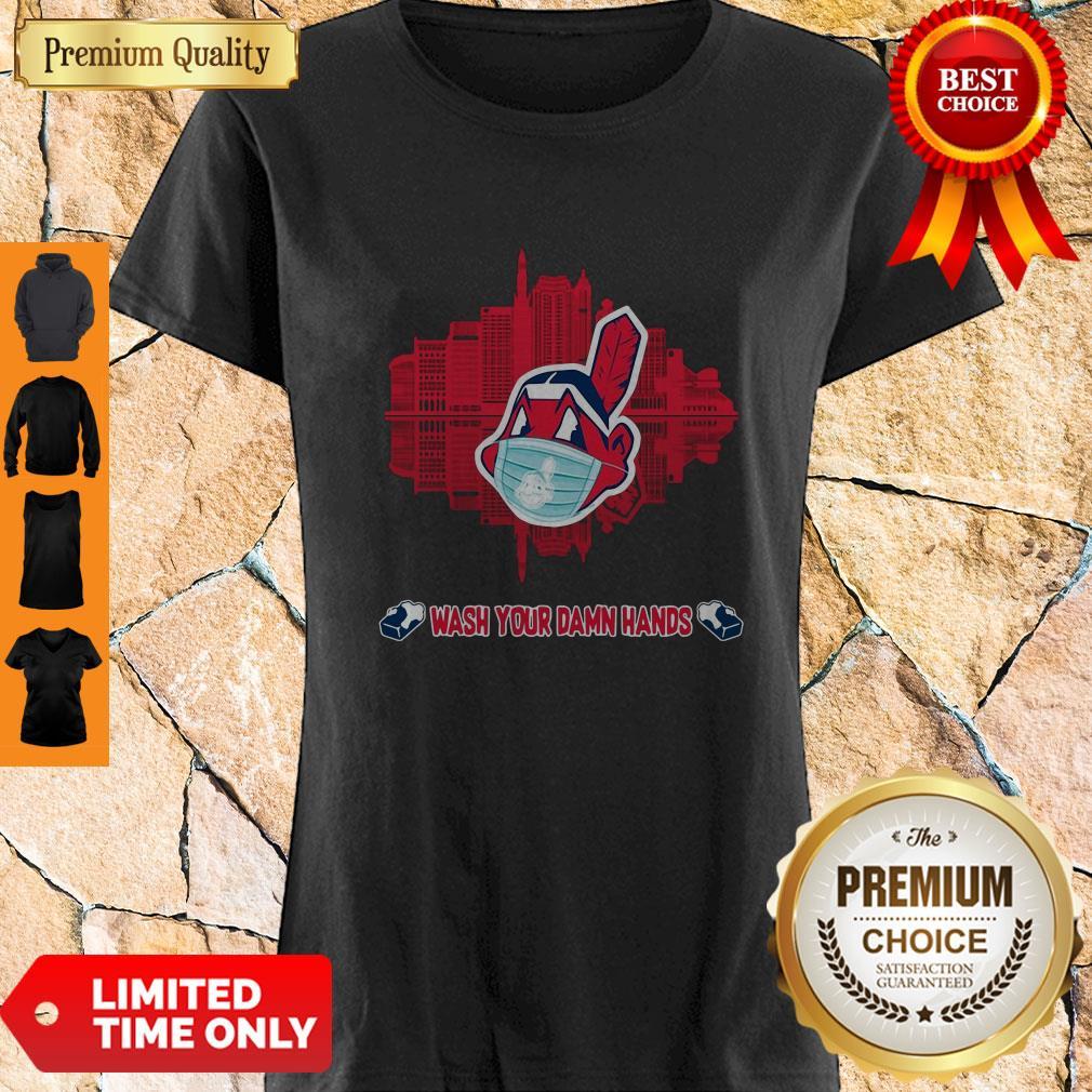 Official Wash Your Damn Hands Cleveland Indians Shirt