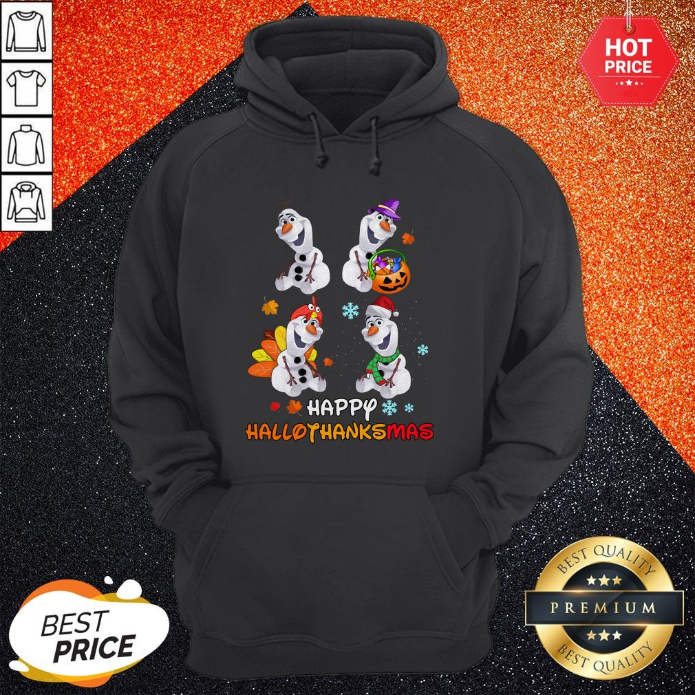 Olaf Happy Hallothanksmas Hoodie