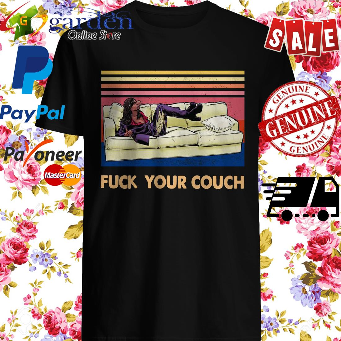 Rick James Fuck Your Couch Vintage Shirt