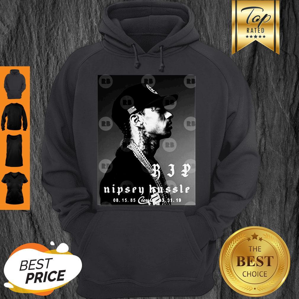Rip Nipsey Hussle Crenshaw TMC Legend Rapper Hoodie