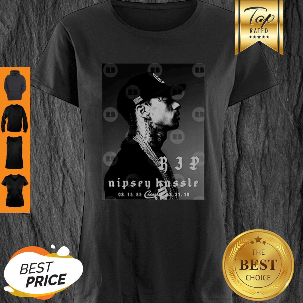 Rip Nipsey Hussle Crenshaw TMC Legend Rapper Shirt