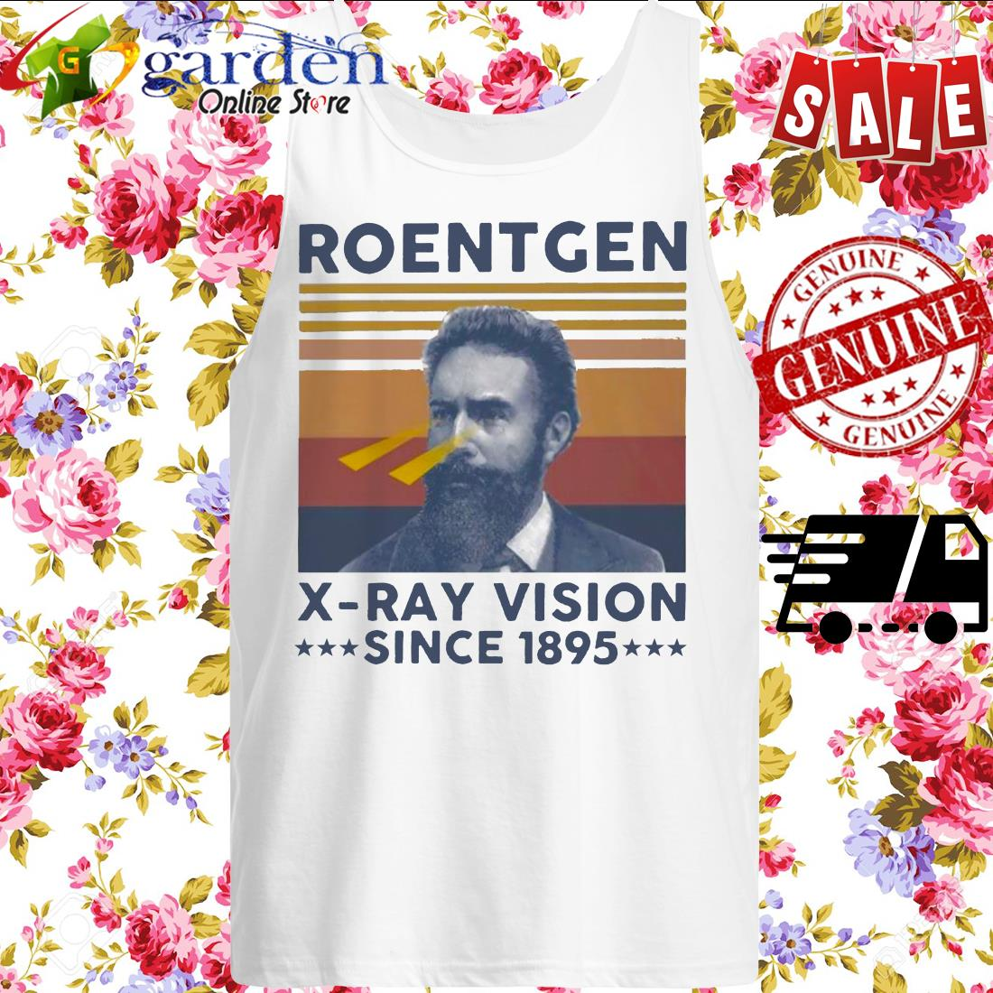 Roentgen X ray vision since 1895 vintage sweater