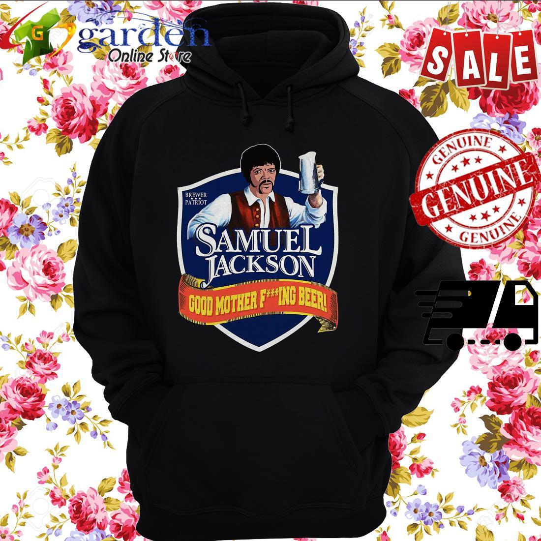 Samuel Jackson good mother fucking Beer hoodie