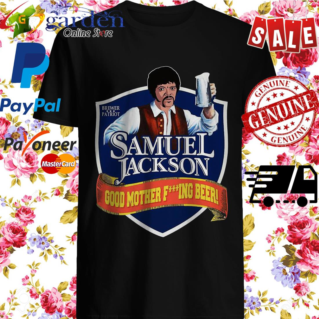 Samuel Jackson good mother fucking Beer shirt