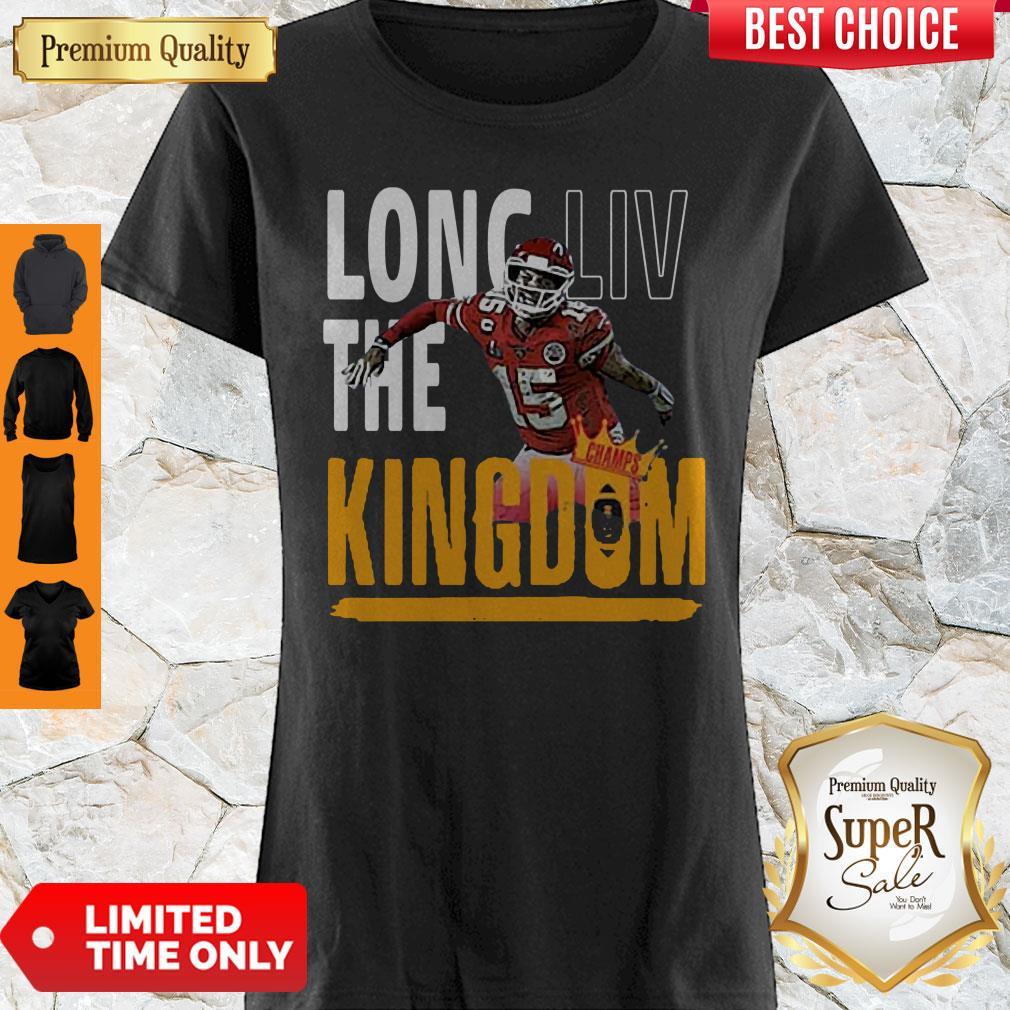 Hot Patrick Mahomes Long LIV The Kingdom Shirt