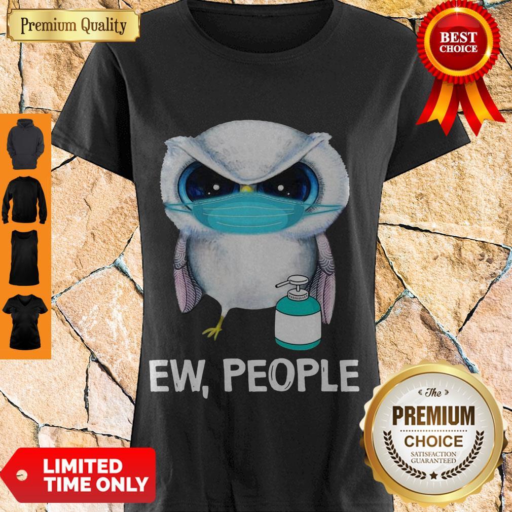 Original Owl Face Mask Ew People Shirt