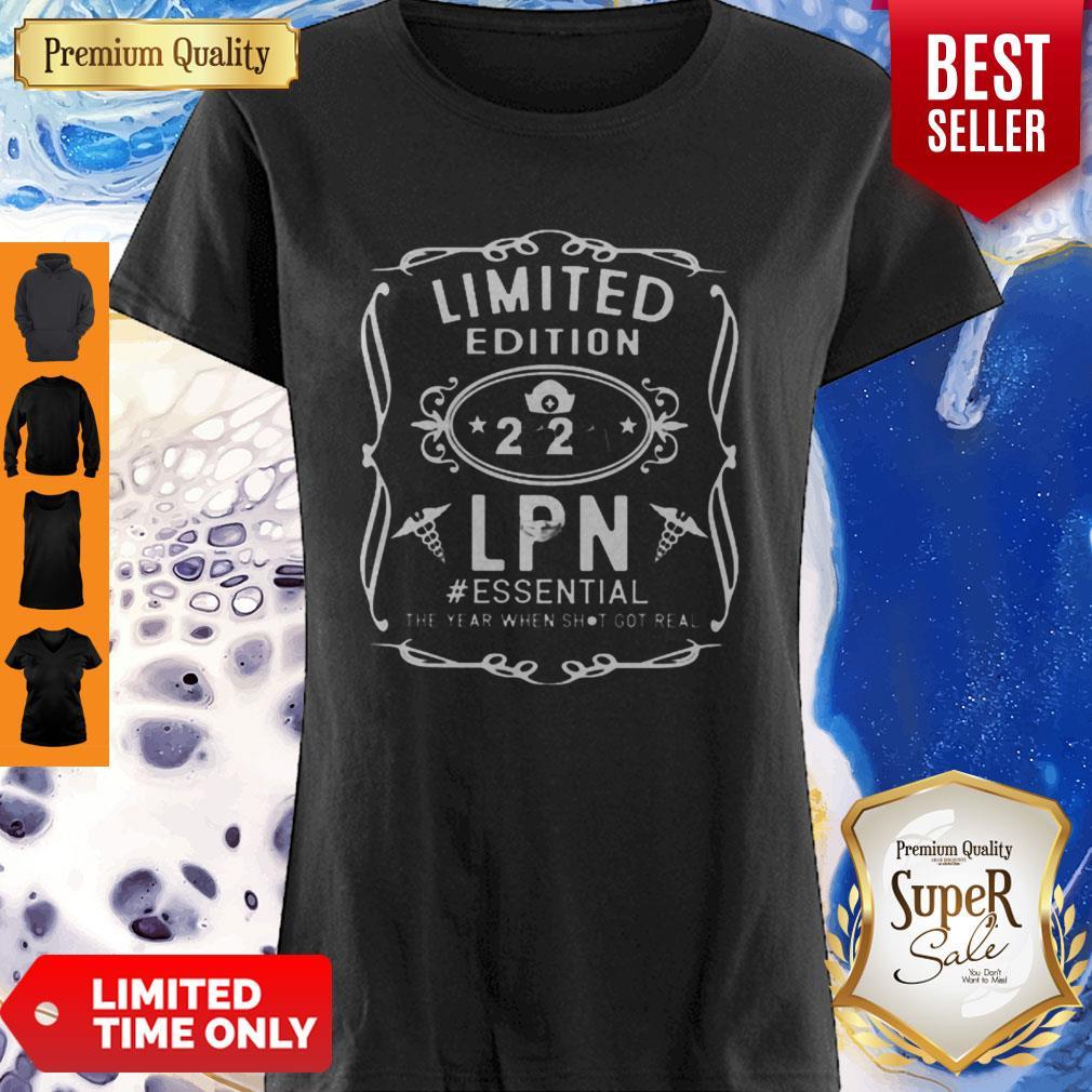 Nice Limited Edition 2020 LPN #Essential Coronavirus Shirt
