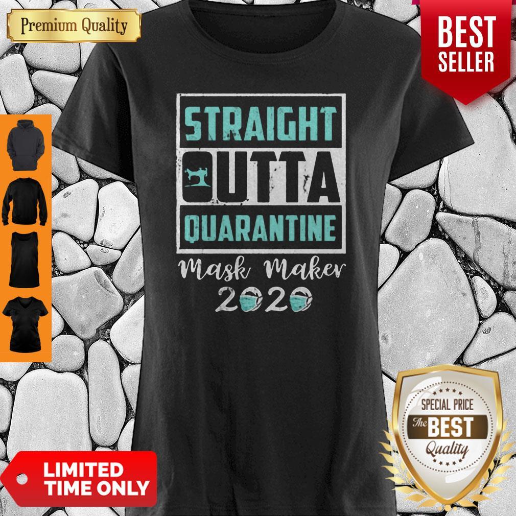 Nice Straight Outta Quarantine Mask Maker 2020 Gift Shirt