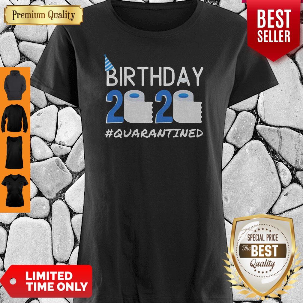 Birthday 2020 Quarantined Shirt Funny Birthday Gift Social Distancing Pandemic Shirt