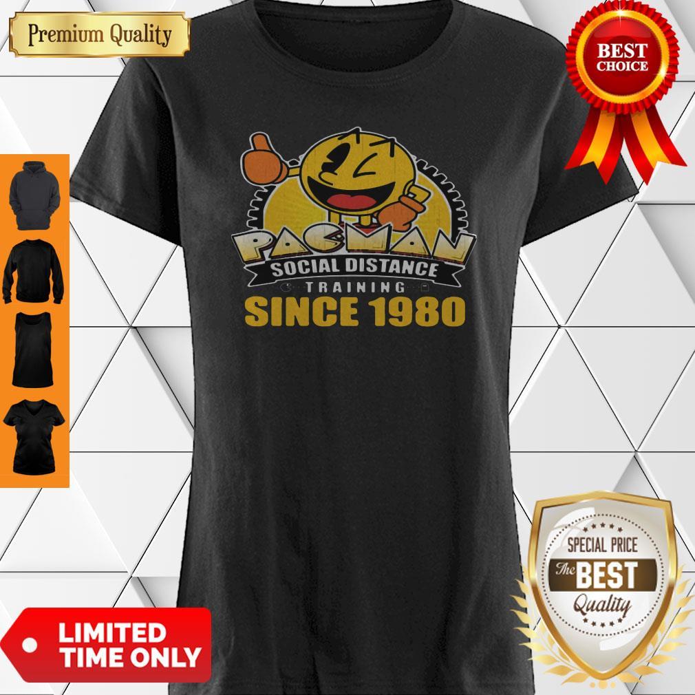Pacman Social Distance Training Since 1980 Classic Shirt