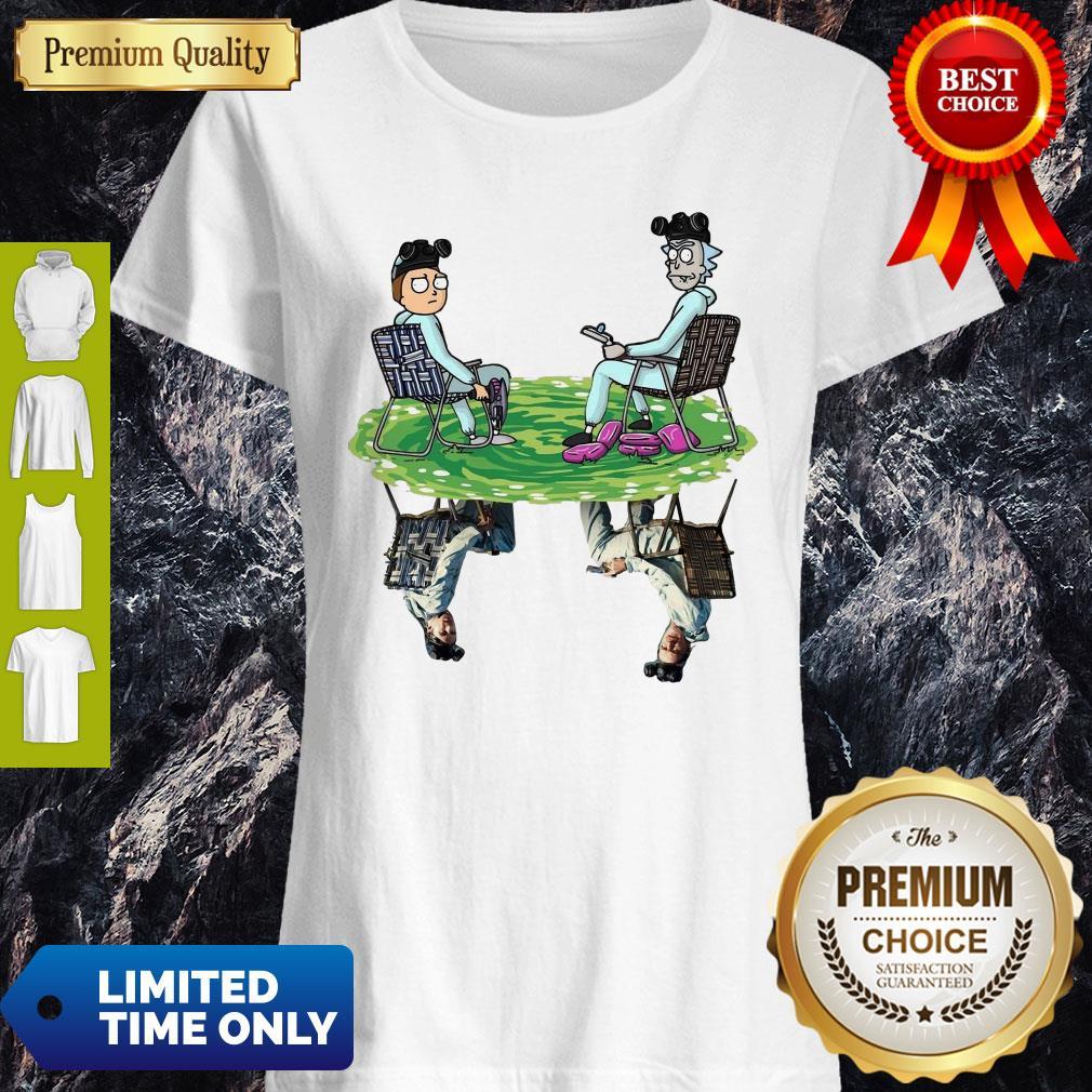 Original Rick And Morty And BAD Shirt