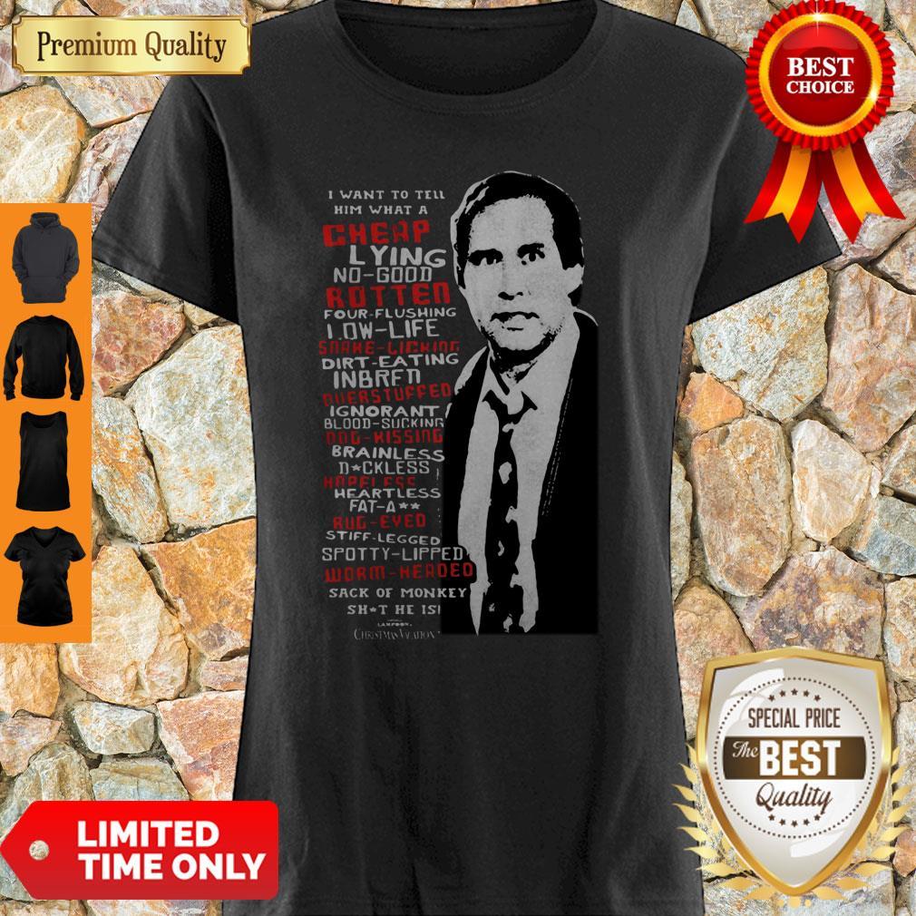 Premium Clark Griswold Rant Christmas Vacation Shirt