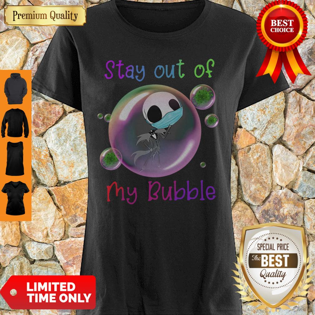 Jack Skellington Lovers Stay Out Of My Bubble Funny Shirt