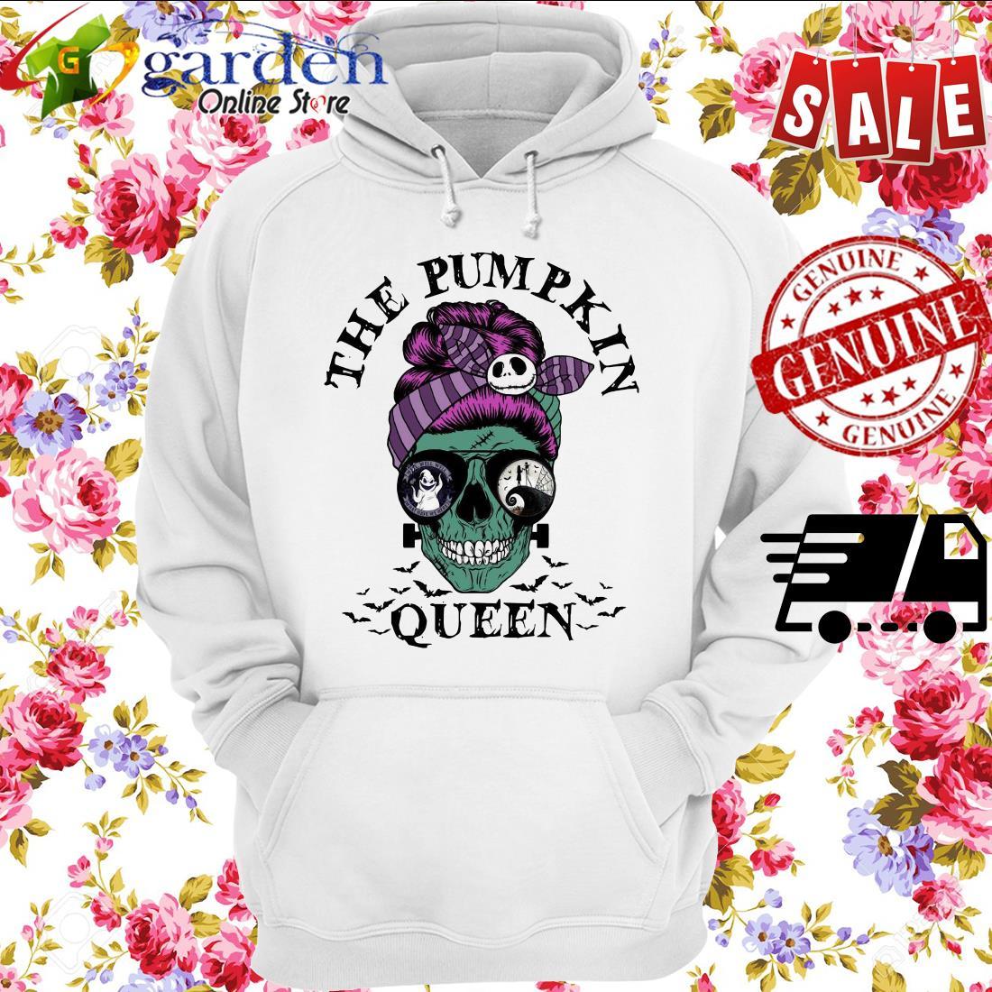 Skull Horror The Pumpkin Queen hoodie