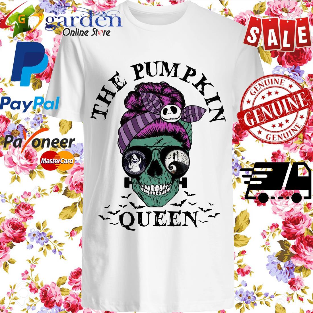 Skull Horror The Pumpkin Queen shirt
