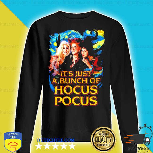 Starry night it's just a bunch of hocus pocus s sweater