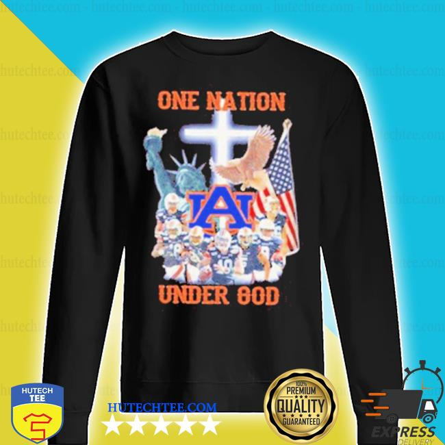 Statue of Liberty American Auburn Tigers one nation under God s sweater