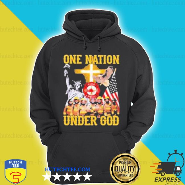 Statue Of Liberty American Fire Dept Blank one nation under god Shirt